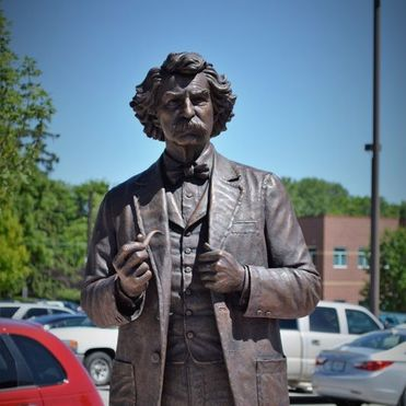 Mark Twain, courtesy of StudioEIS and the City of Liberty, Missouri